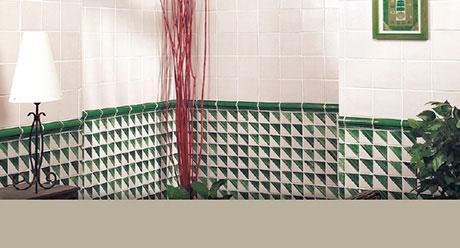 NOVECENTO VERDIN-13x13-Ceramica-Natucer