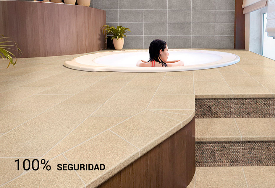 Interior SPA Quartz Klinker Natucer