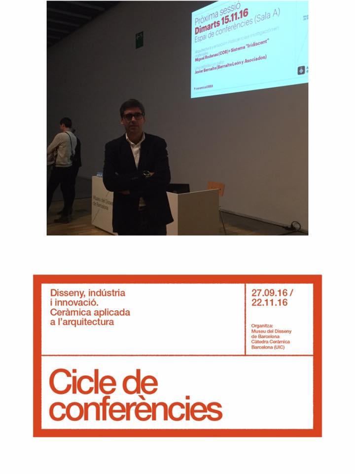 Imagenes Ciclo conferencias Barcelona