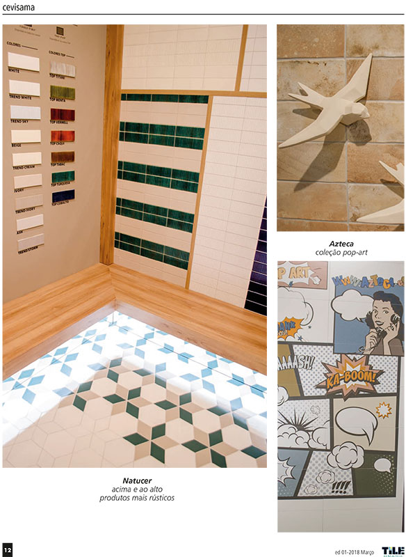 Imagenes Appearance in the magazine Tile Brasil