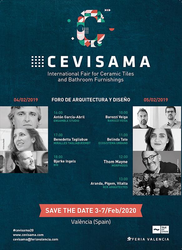 Imagenes Espectacular Foro de Arquitectura Cevisama 2020