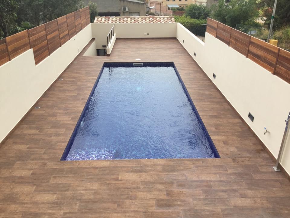 Exterior vivienda palafrugell natucer natucer cer mica for Alcampo piscinas desmontables 2016