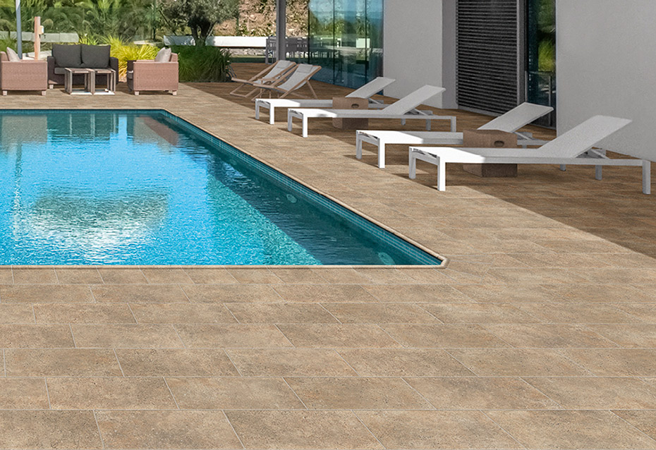 ROCKS BROWN 30x60 · BORDE PISCINA 30x36/4 · BORDE PISCINA ESQ. INT. 51,2x51,2
