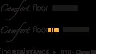 Comfort Floor Class I - Comfort Floor OLIO Class I - Fine Resistance R10 Class III